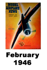 Model Airplane news cover for February of 1946