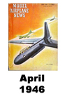 Model Airplane news cover for April of 1946