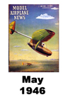 Model Airplane news cover for May of 1946