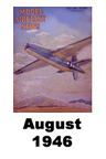 Model Airplane news cover for August of 1946