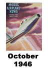 Model Airplane news cover for October of 1946