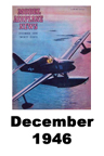 Model Airplane news cover for December of 1946