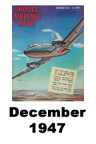 Model Airplane news cover for December of 1947
