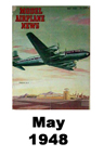 Model Airplane news cover for May of 1948