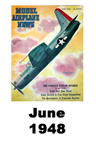 Model Airplane news cover for June of 1948