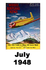 Model Airplane news cover for July of 1948