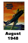 Model Airplane news cover for August of 1948