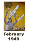 Model Airplane news cover for February of 1949