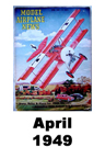 Model Airplane news cover for April of 1949