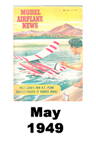 Model Airplane news cover for May of 1949