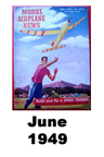 Model Airplane news cover for June of 1949