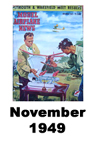 Model Airplane news cover for November of 1949