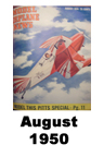 Model Airplane news cover for August of 1950