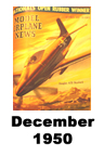 Model Airplane news cover for December of 1950