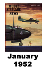 Model Airplane news cover for January of 1952