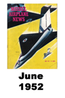 Model Airplane news cover for June of 1952