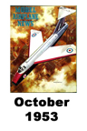Model Airplane news cover for October of 1953