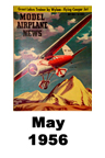 Model Airplane news cover for May of 1956