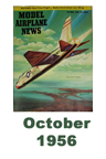 Model Airplane news cover for October of 1956