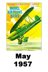 Model Airplane news cover for May of 1957