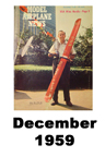 Model Airplane news cover for December of 1959