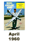 Model Airplane news cover for April of 1960