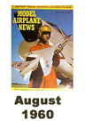 Model Airplane news cover for August of 1960