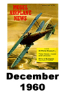 Model Airplane news cover for December of 1960