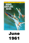 Model Airplane news cover for June of 1961