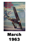 Model Airplane news cover for March of 1963