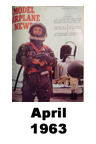 Model Airplane news cover for April of 1963