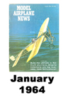 Model Airplane news cover for January of 1964