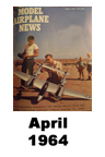Model Airplane news cover for April of 1964