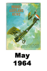 Model Airplane news cover for May of 1964