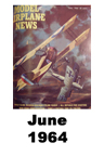 Model Airplane news cover for June of 1964