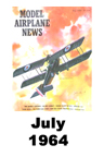 Model Airplane news cover for July of 1964