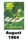Model Airplane news cover for August of 1964