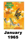 Model Airplane news cover for January of 1965