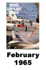 Model Airplane news cover for February of 1965
