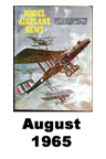 Model Airplane news cover for August of 1965