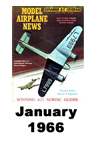 Model Airplane news cover for January of 1966