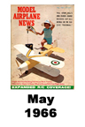 Model Airplane news cover for May of 1966
