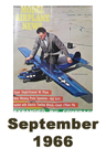 Model Airplane news cover for September of 1966
