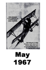 Model Airplane news cover for May of 1967