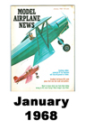Model Airplane news cover for January of 1968