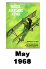 Model Airplane news cover for May of 1968