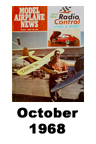 Model Airplane news cover for October of 1968