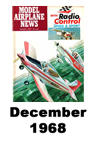 Model Airplane news cover for December of 1968