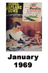 Model Airplane news cover for January of 1969