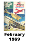 Model Airplane news cover for February of 1969